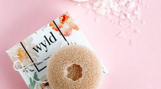 How to use a Konjac Sponge to Exfoliate and Brighten Skin