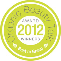 Organic Beauty Talk Award Winners 2012