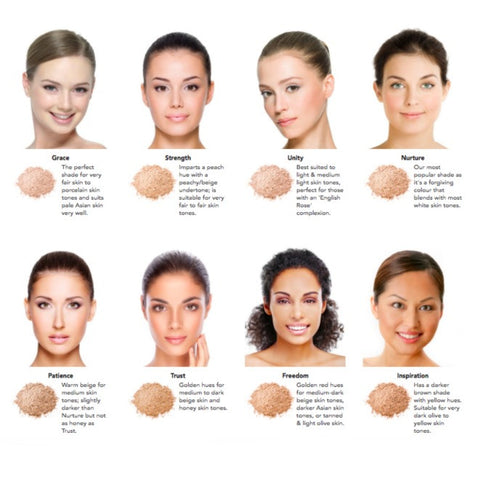 Inika Baked Mineral Foundation The Choosy Chick