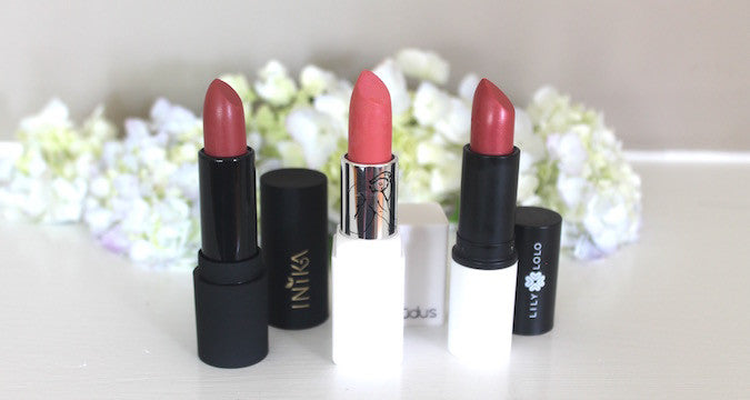 National Lipstick Day featuring Inika, Lily Lolo and Nudus