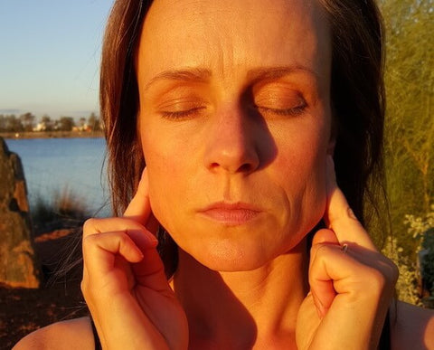 Step 4 Lymphatic Facial Massage