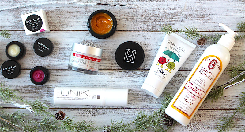 Natural products to soothe dry skin