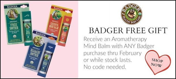 Badger Free Mind Balm Offer