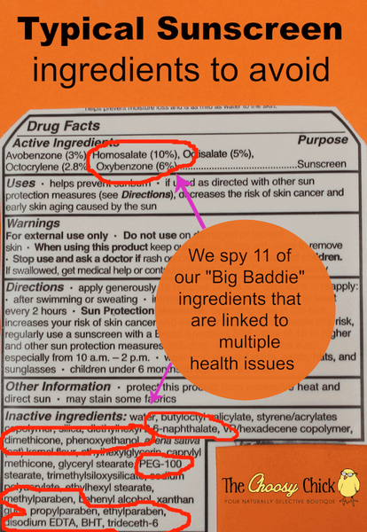 Toxic Sunscreen Ingredients