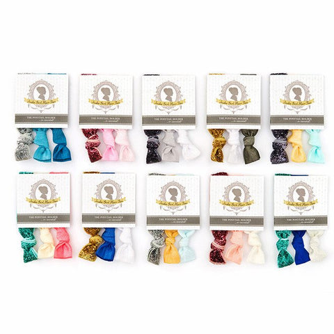 Glitter Collection Hair Ties