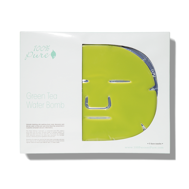 Green Tea Water Bomb Mask