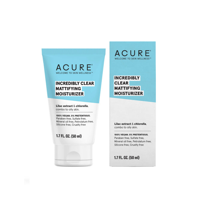 Incredibly Clear Mattifying Moisturizer