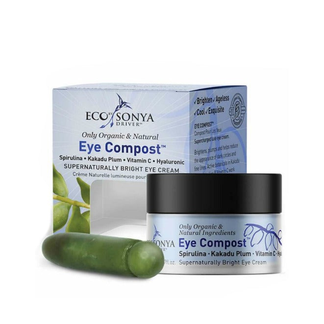Eye Compost Supernaturally Bright Eye Cream with Jade Stone