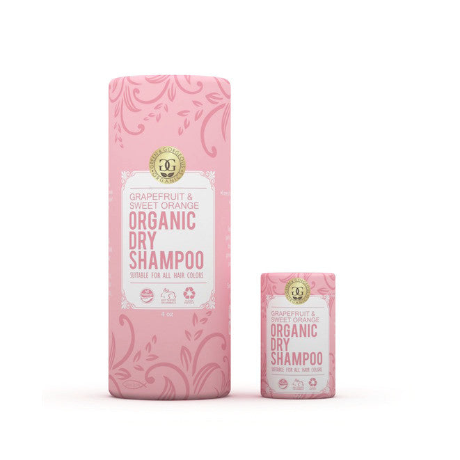 Organic Dry Shampoo Powder - Grapefruit Sweet Orange