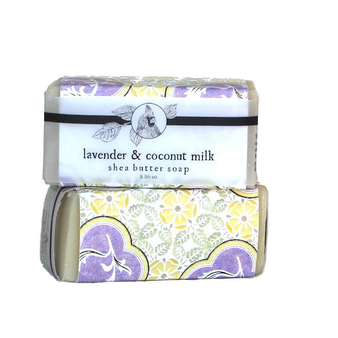 Lavender & Coconut Milk Shea Butter Soap