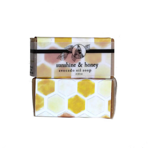 Sunshine & Honey Avocado Oil Soap