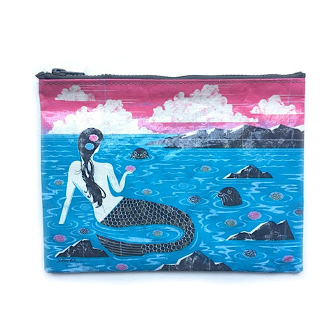 Eco Zipper Pouch Mermaid