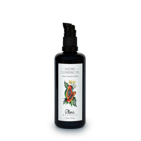 Enzyme Cleansing Oil & Mask with Papaya