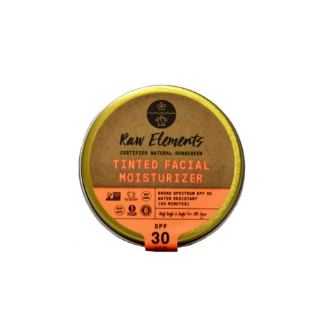 Tinted Face Moisturizer SPF 30 Sunscreen - ECO Tin