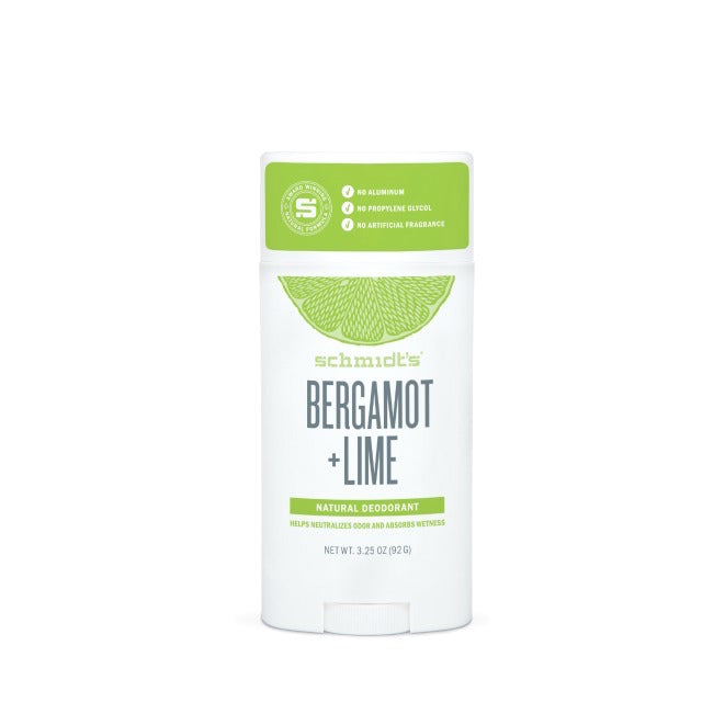 Bergamot & Lime Natural Deodorant Stick