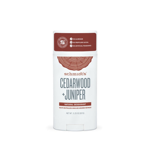 Cedarwood Juniper Natural Deodorant Stick