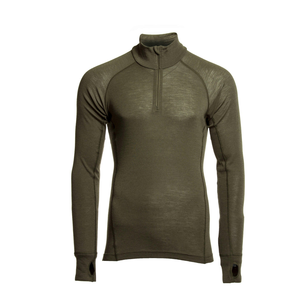 HAWK - Raptor Long Sleeve Zip Top-Armadillo Merino-Brigantes Consulting Ltd