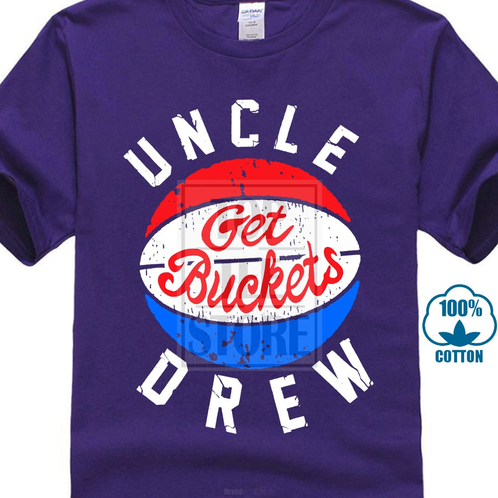 Uncle Drew Get Buckets Adult T Shirt