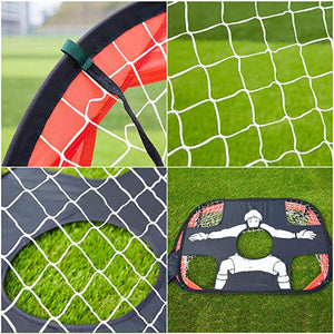 "2-in-1 Soccer Goal, Foldable and Portable Quick Pop Up Soccer Goal (43.3"" L X 31.5"" W) - ItsASportsVibe"