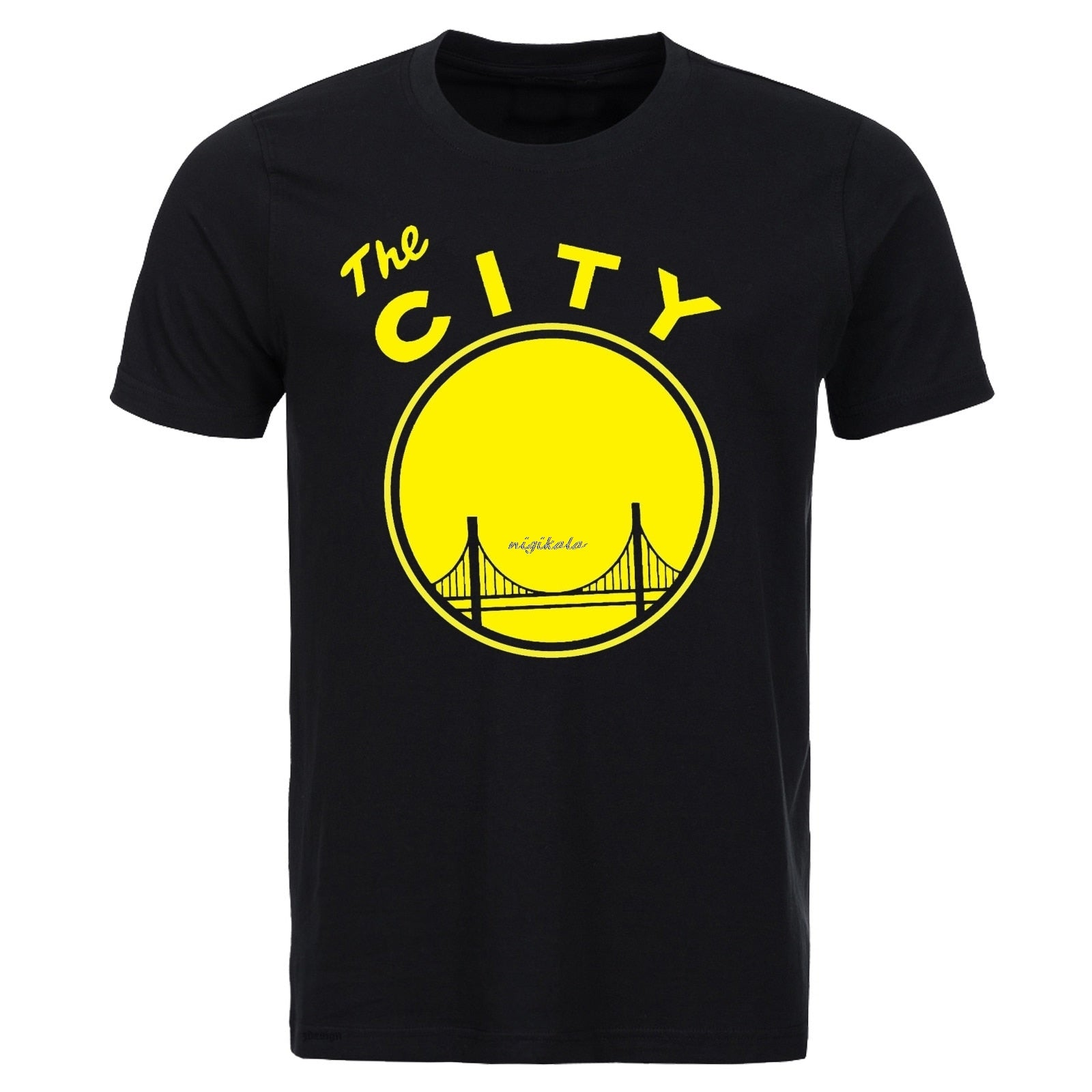 Short Sleeve Golden State Warriors  The City  T-shirt