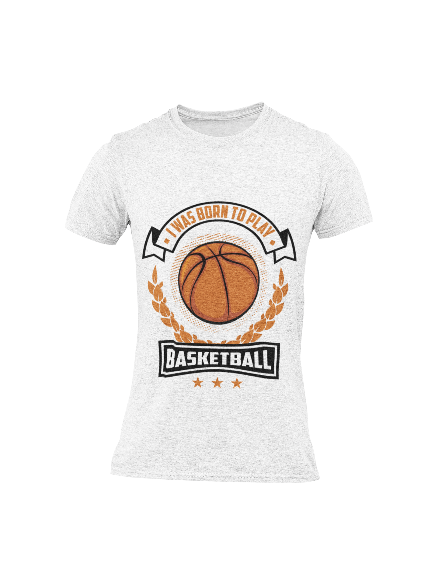 Short-Sleeve Born To Play Basketball T-Shirt - ItsASportsVibe