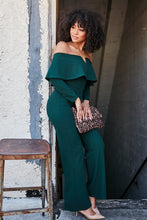 Load image into Gallery viewer, Off Shoulder Jumpsuit