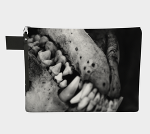 """Regretting"" Zipper Pouch"