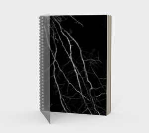 """Marked"" Spiral Notebook"