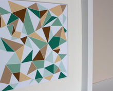 Load image into Gallery viewer, Geometric Scandinavian art print