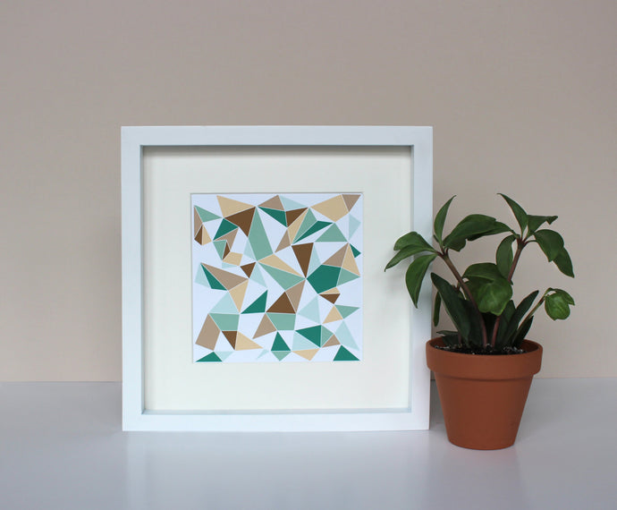 Geometric Scandinavian art print