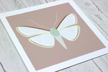 Load image into Gallery viewer, Moth art print