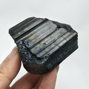 Natural Black Tourmaline Stone - BANISH EVIL