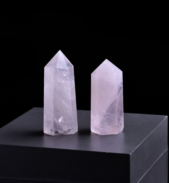 Rose Quartz Crystal - STRENGTHENS BONDS BETWEEN MOTHER AND CHILD