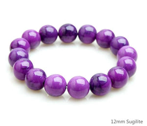 Sugilite Stone Bracelet - FREES YOU FROM YOUR PAST