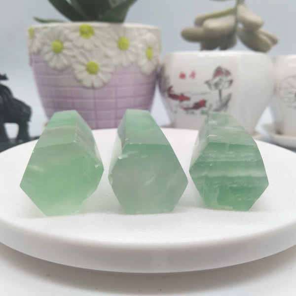 Green Fluorite - HIDES YOU FROM TOXIC ENERGY