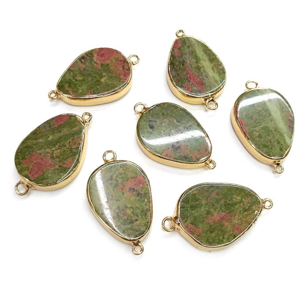 Unakite Pendants Charms - Strong Energy for Pregnant Women