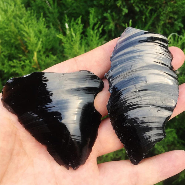 Natural Black Obsidian - BUY ONE PIECE, GET A SECOND PIECE FREE