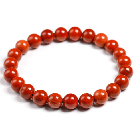 Natural Red Jasper Stone Bracelet - WEAR AFTER SURGERY FOR A SPEEDY RECOVERY