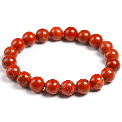 Red Jasper Bracelets For Nurses - ENERGY AND FOCUS ALL DAY LONG