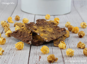 We Dare You To Try These! Bark Tins Chocograms chocolate bark