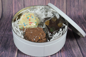 Everyday Chocolate Bark Tins Chocograms chocolate bark