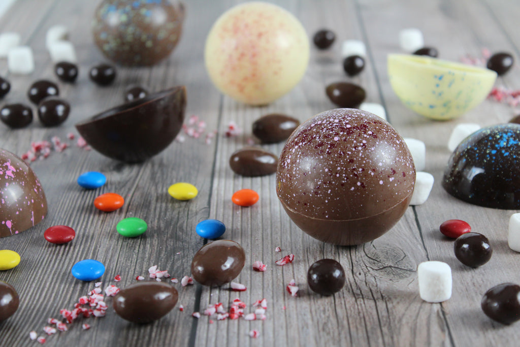 Candy Filled Spheres Tins