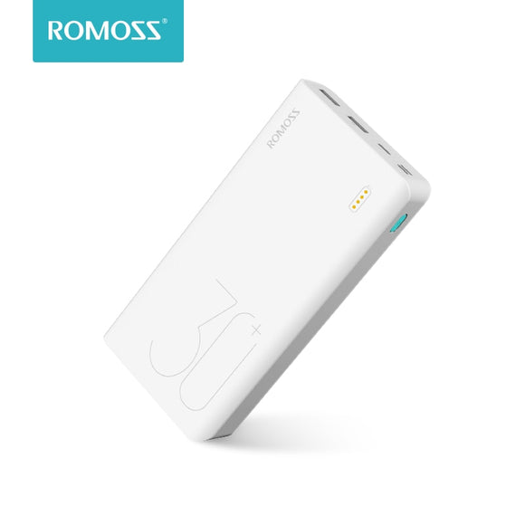 30000mAh ROMOSS Sense 8+| Fast Charging Portable Powerbank