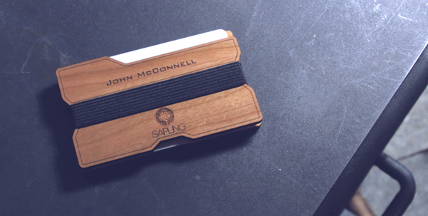 Signature Series Wood Wallet V2