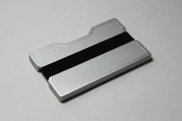 Crosshatch Series : Aluminum Wallets - Sapling Inc.