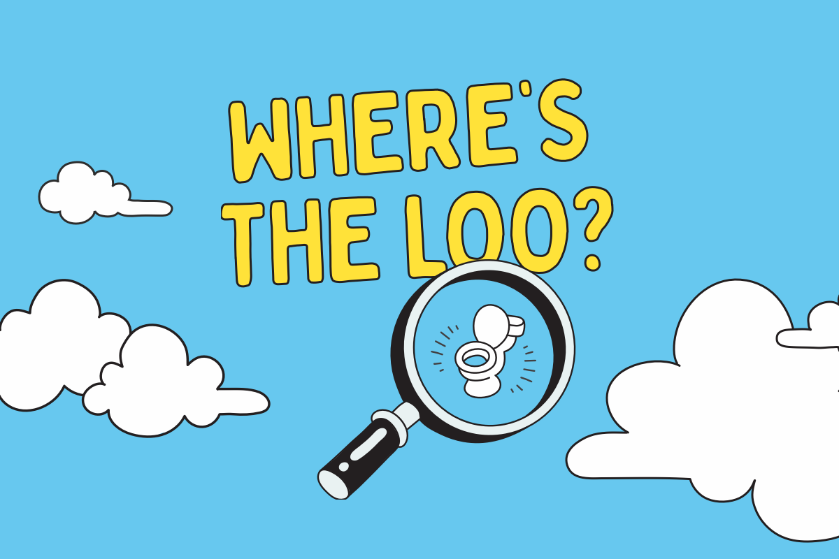 Where's the Loo email banner