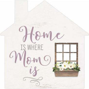 Home is where mom is: word block