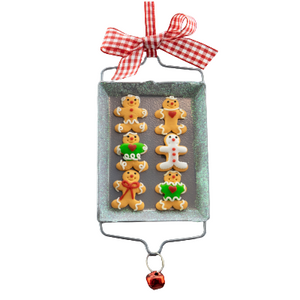Gingerbread Cookie Sheet Ornament