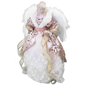 Rose Gold Angel Tree Topper