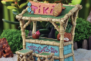 Tiki Stand and Chairs